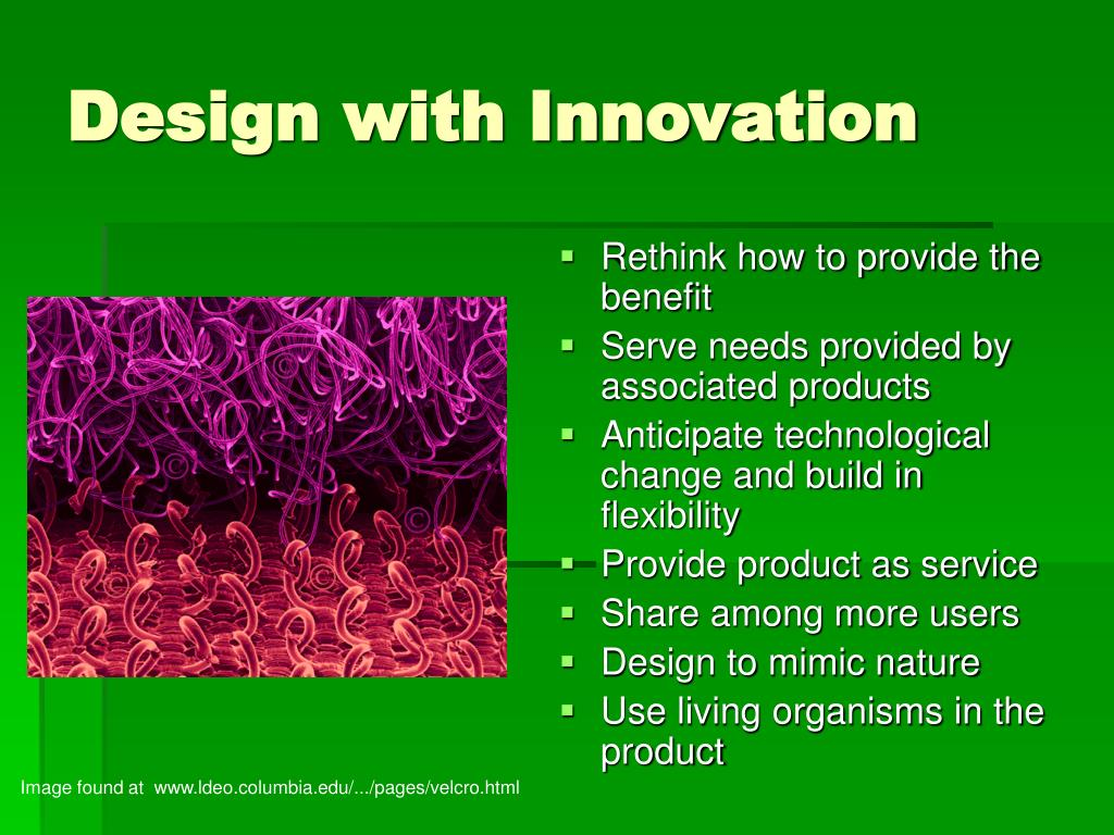 Design with Innovation