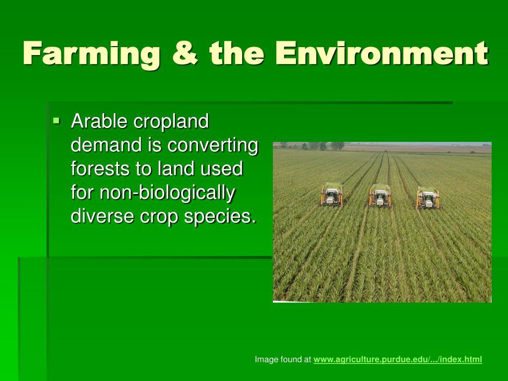 Farming & the Environment