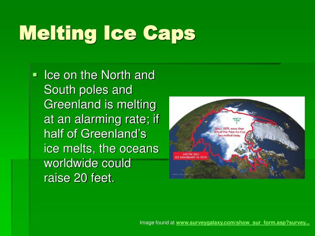 Melting Ice Caps