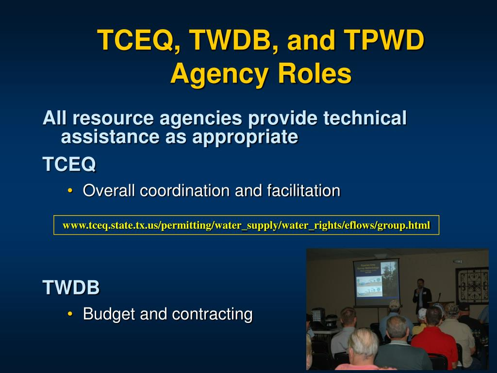 TCEQ, TWDB, and TPWD