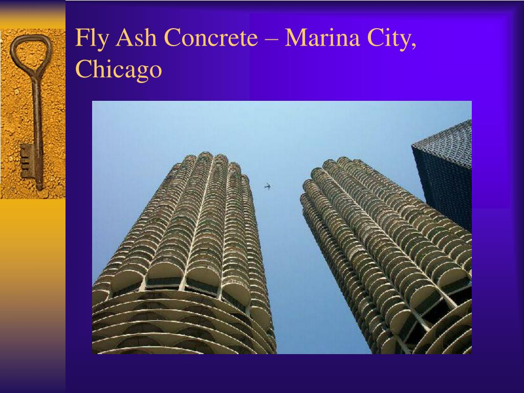 Fly Ash Concrete – Marina City, Chicago