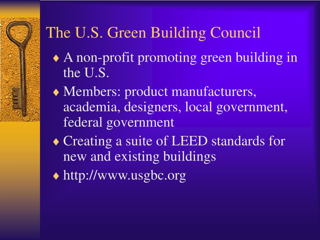 The U.S. Green Building Council