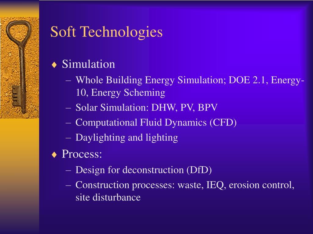 Soft Technologies