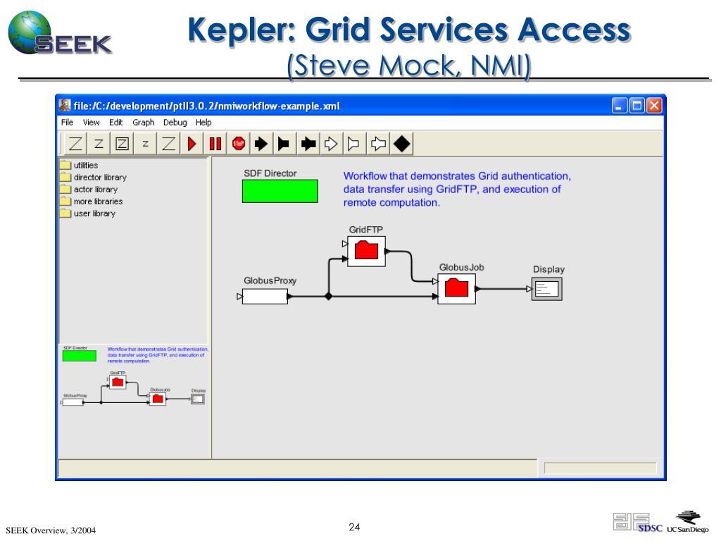 Kepler: Grid Services Access