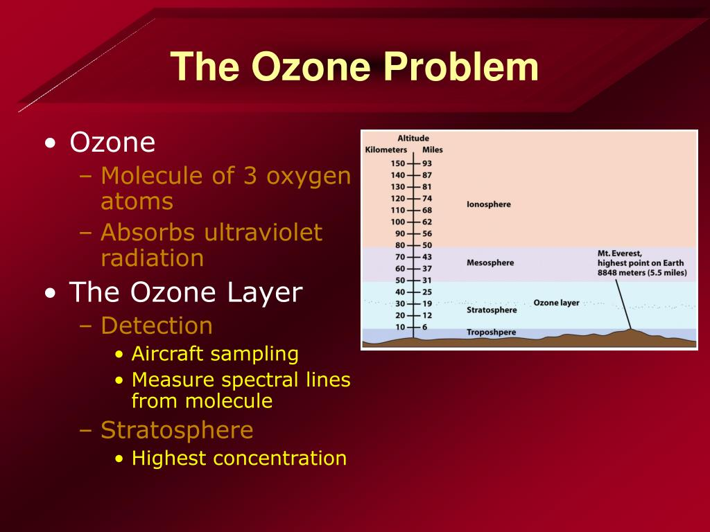 The Ozone Problem