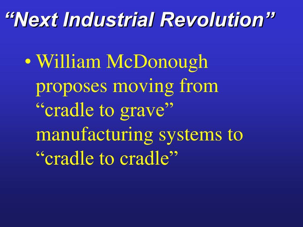 """Next Industrial Revolution"""