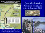 cyanide disaster australian owned gold mine in romania 2000