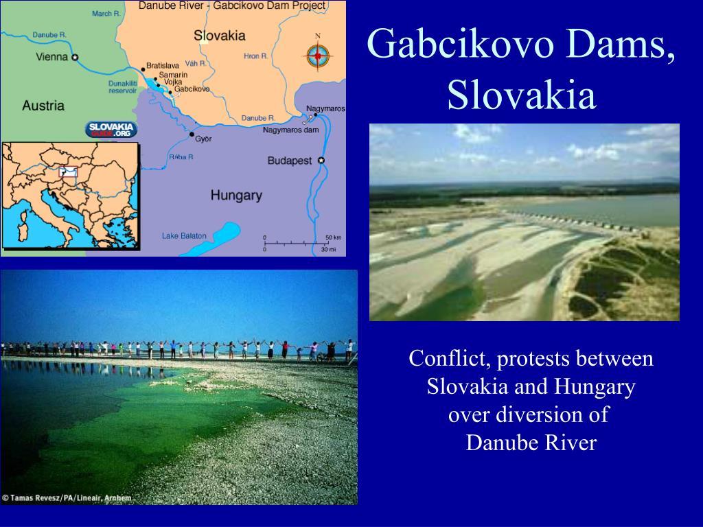 Gabcikovo Dams,