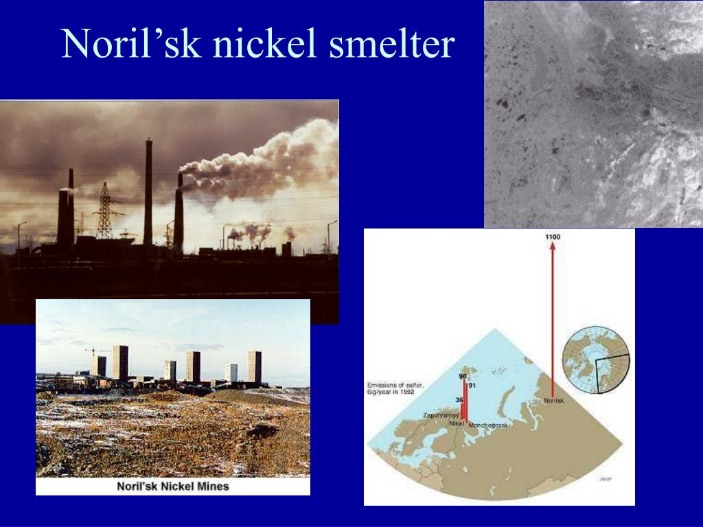 Noril'sk nickel smelter