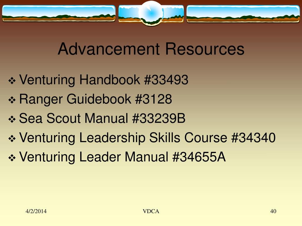 Advancement Resources