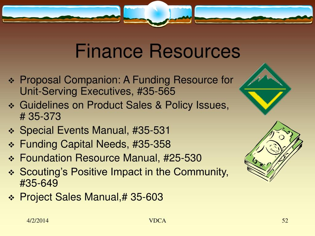Finance Resources