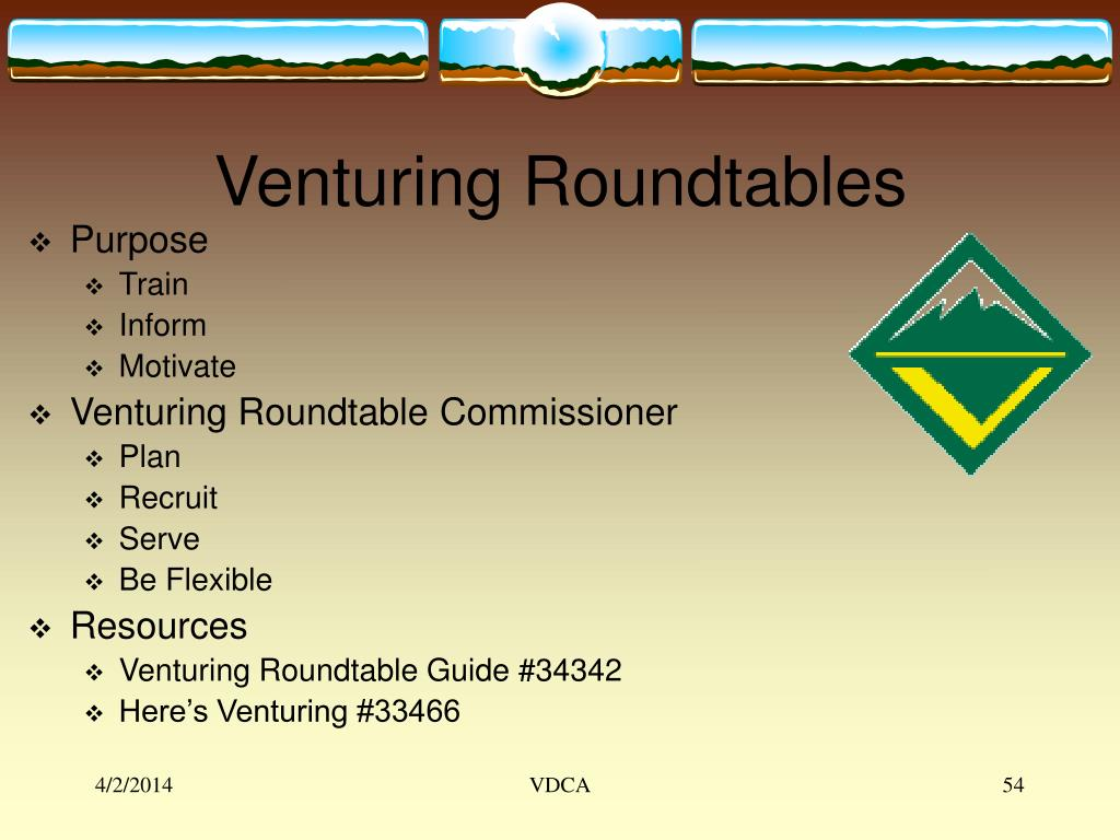 Venturing Roundtables