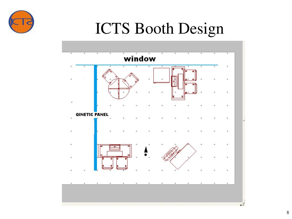 ICTS Booth Design