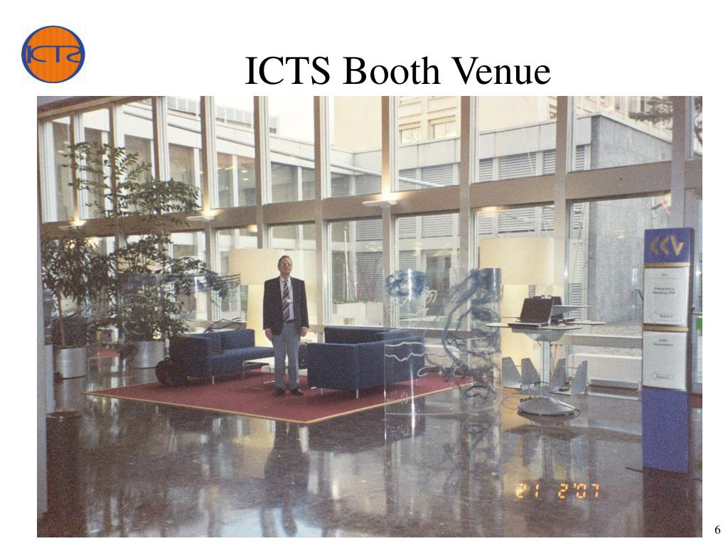 ICTS Booth Venue