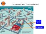 location of wrc and exhibition