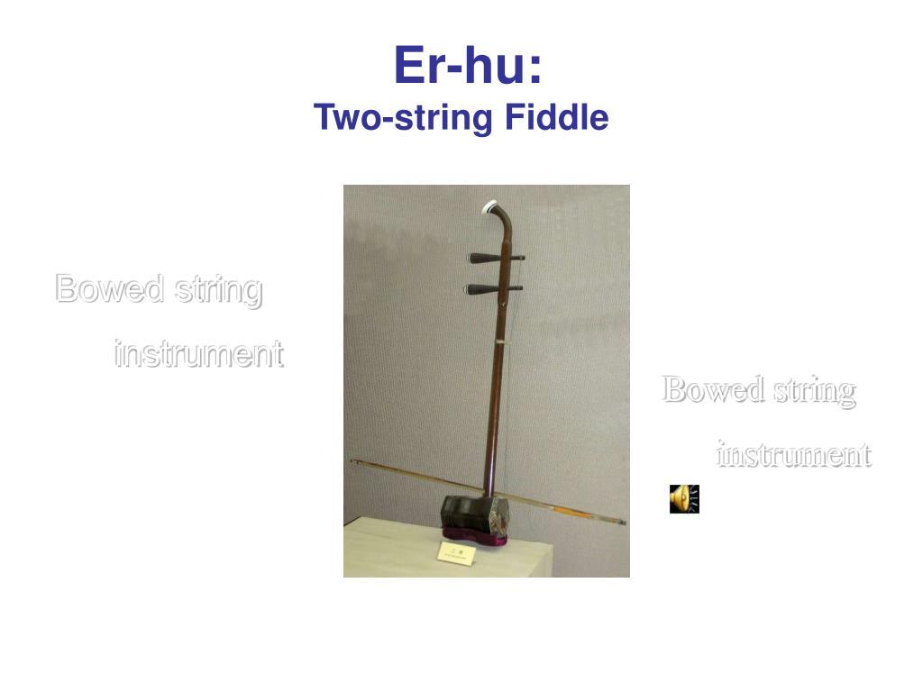 Er-hu: