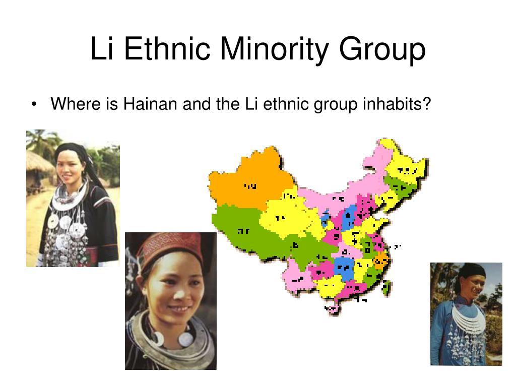 Li Ethnic Minority Group