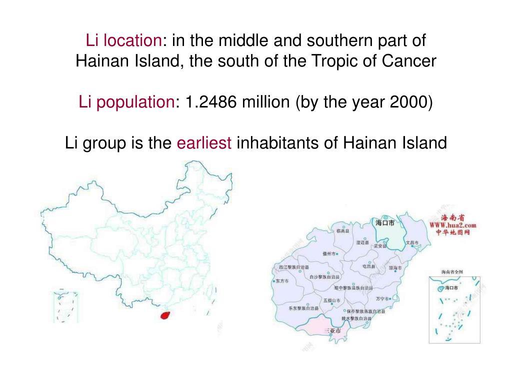 Li location