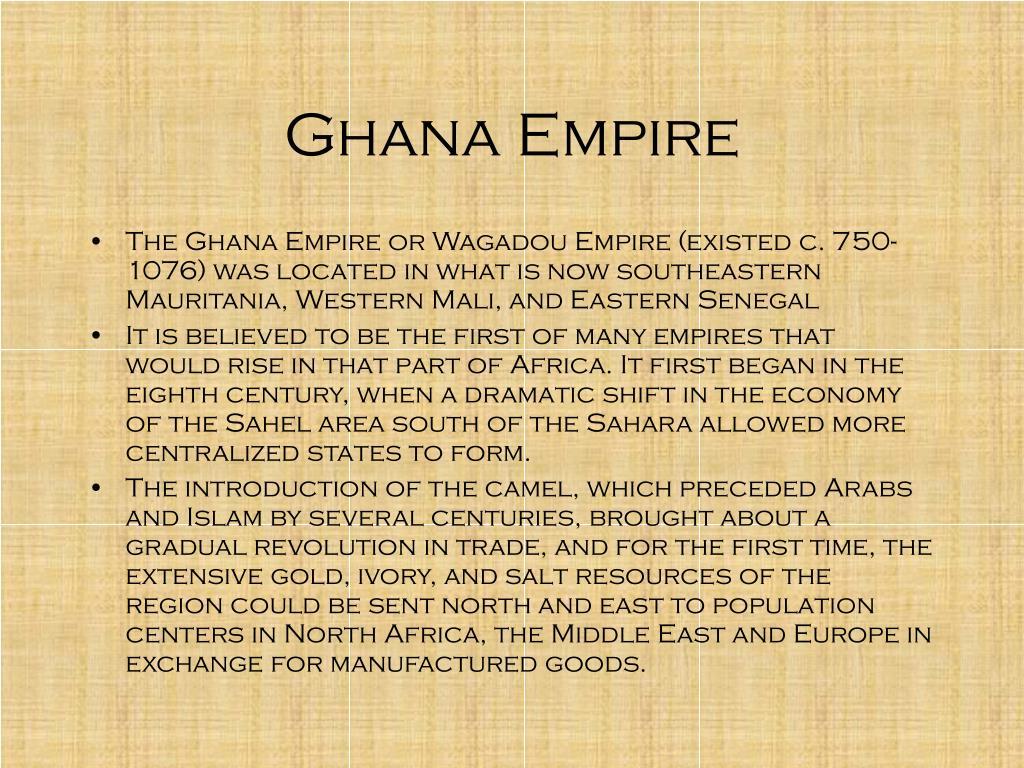 Ghana Empire