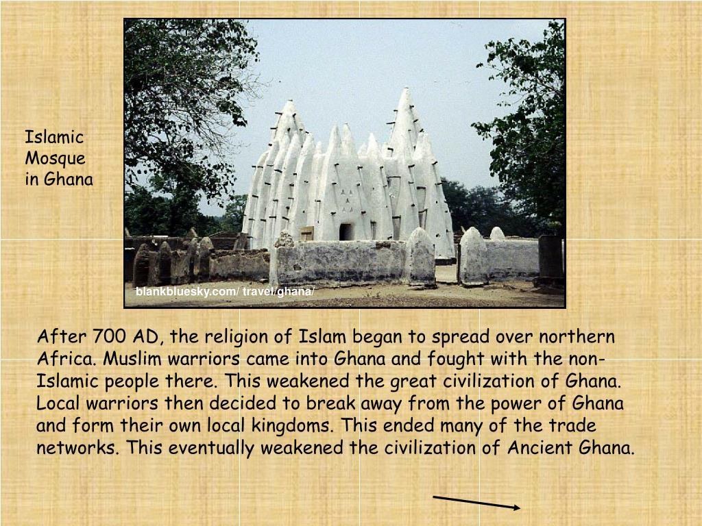 Islamic Mosque in Ghana