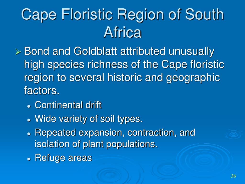 Cape Floristic Region of South Africa