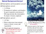 natural background aerosol