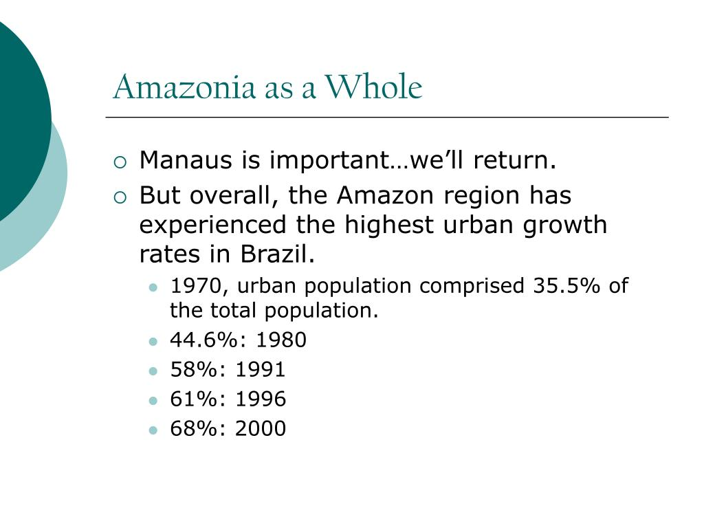 Amazonia as a Whole