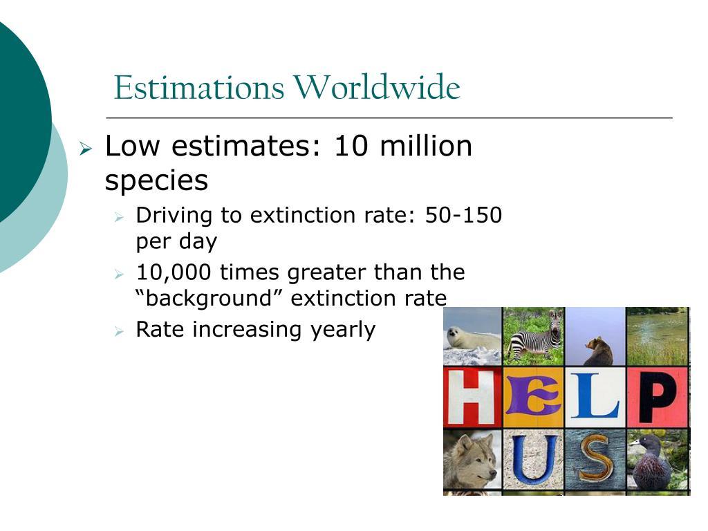 Estimations Worldwide