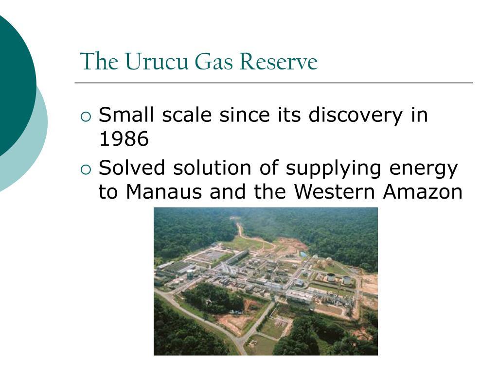The Urucu Gas Reserve