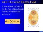 24 3 flux of an electric field
