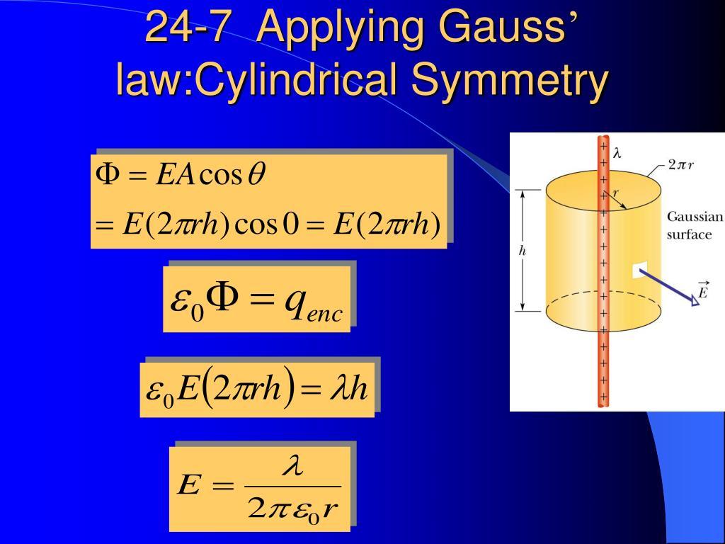 24-7  Applying Gauss