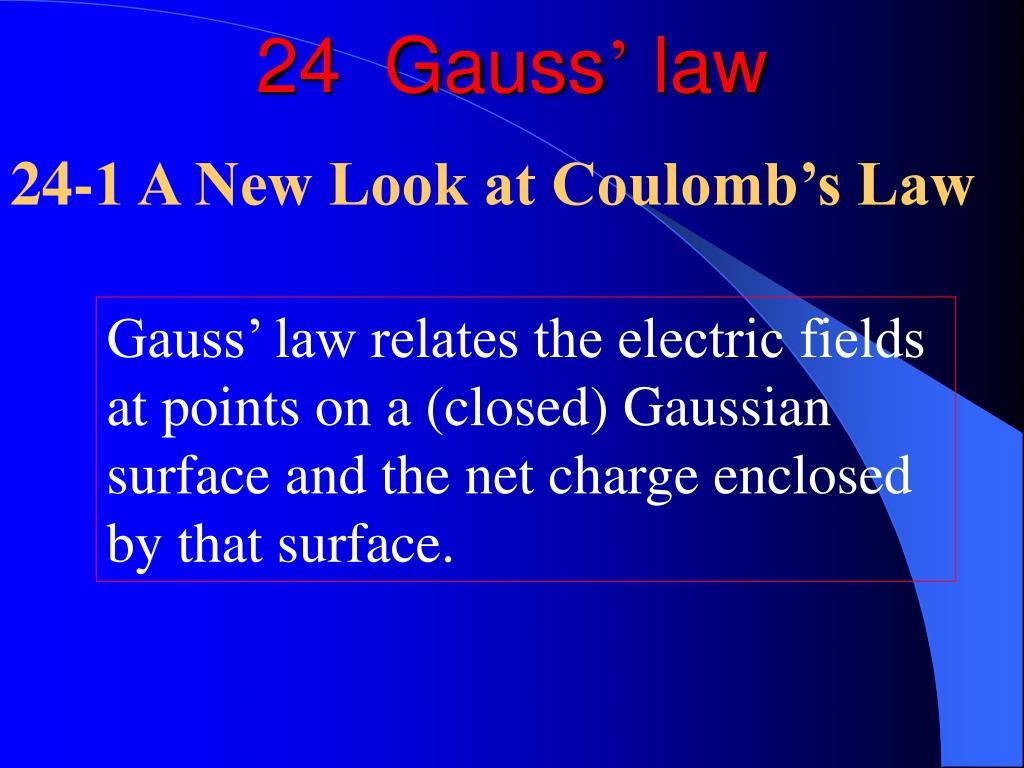 24  Gauss