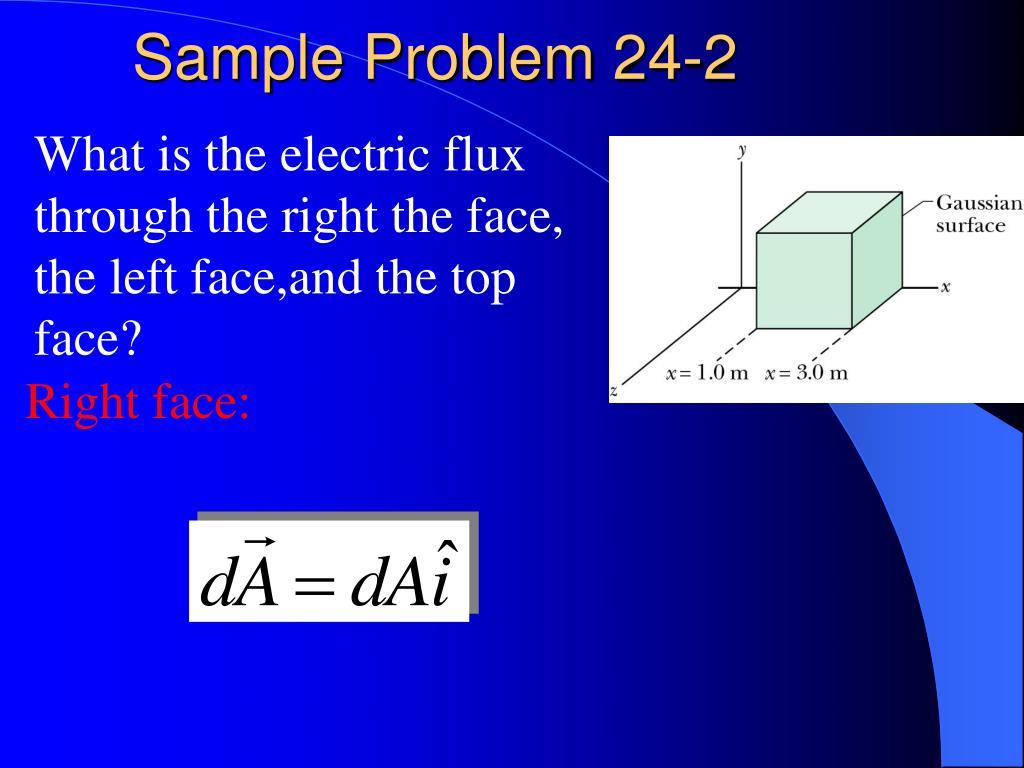 Sample Problem 24-2