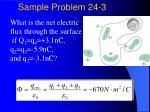 sample problem 24 3