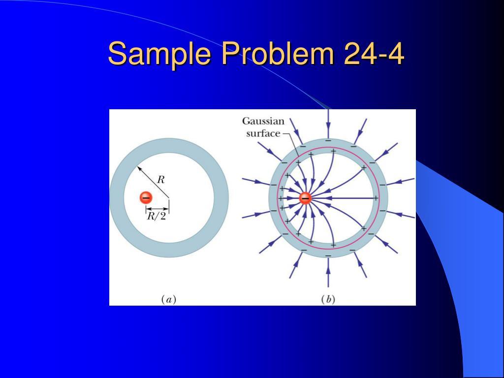 Sample Problem 24-4