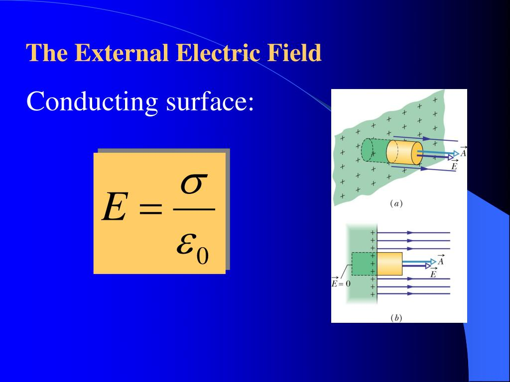 The External Electric Field