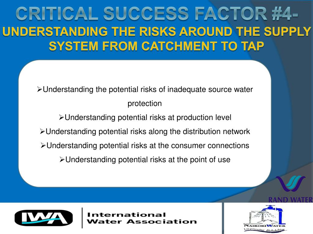 Understanding the potential risks of inadequate source water protection