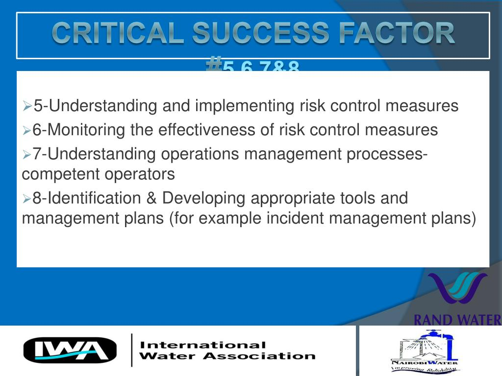 5-Understanding and implementing risk control measures