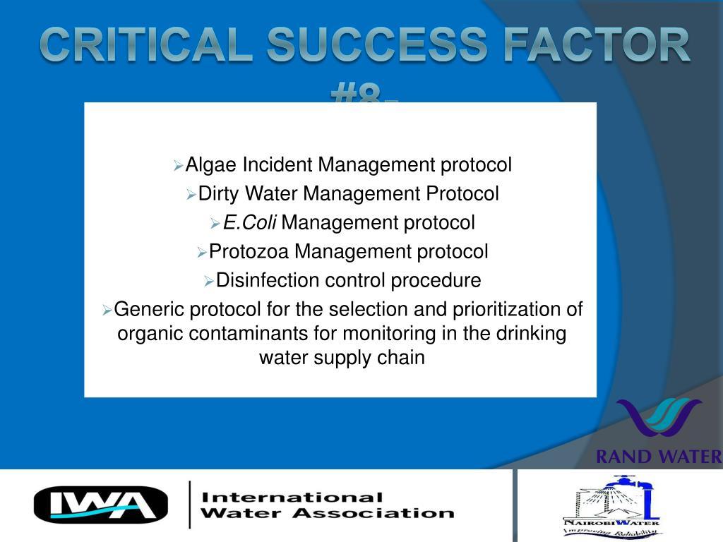 Algae Incident Management protocol
