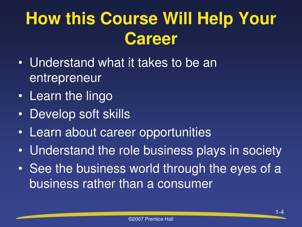 How this Course Will Help Your Career