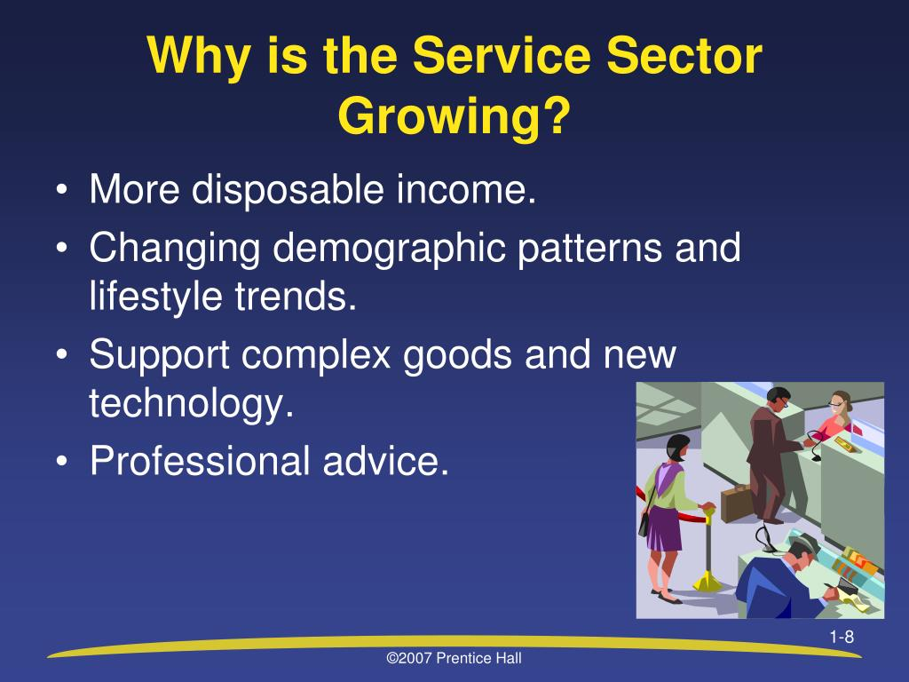 Why is the Service Sector Growing?
