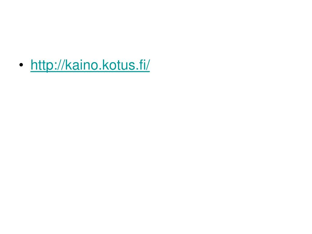 http://kaino.kotus.fi/