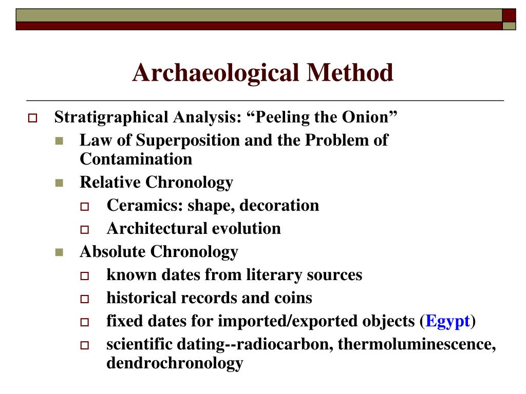 define dendrochronology dating