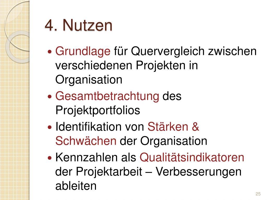 4. Nutzen
