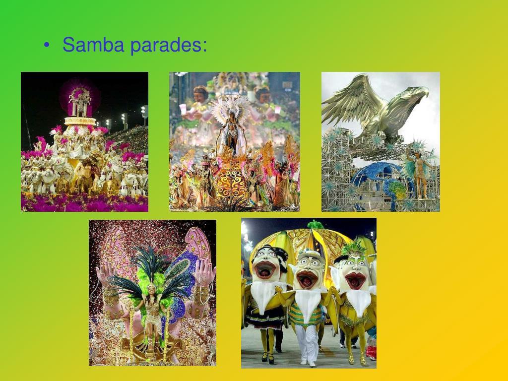 Samba parades: