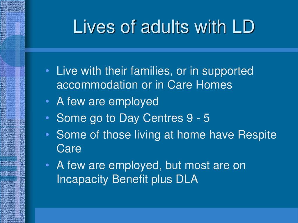 Adults With Ld 90
