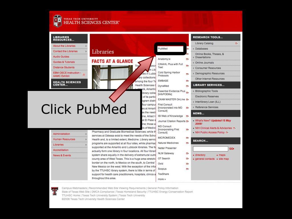 Click PubMed