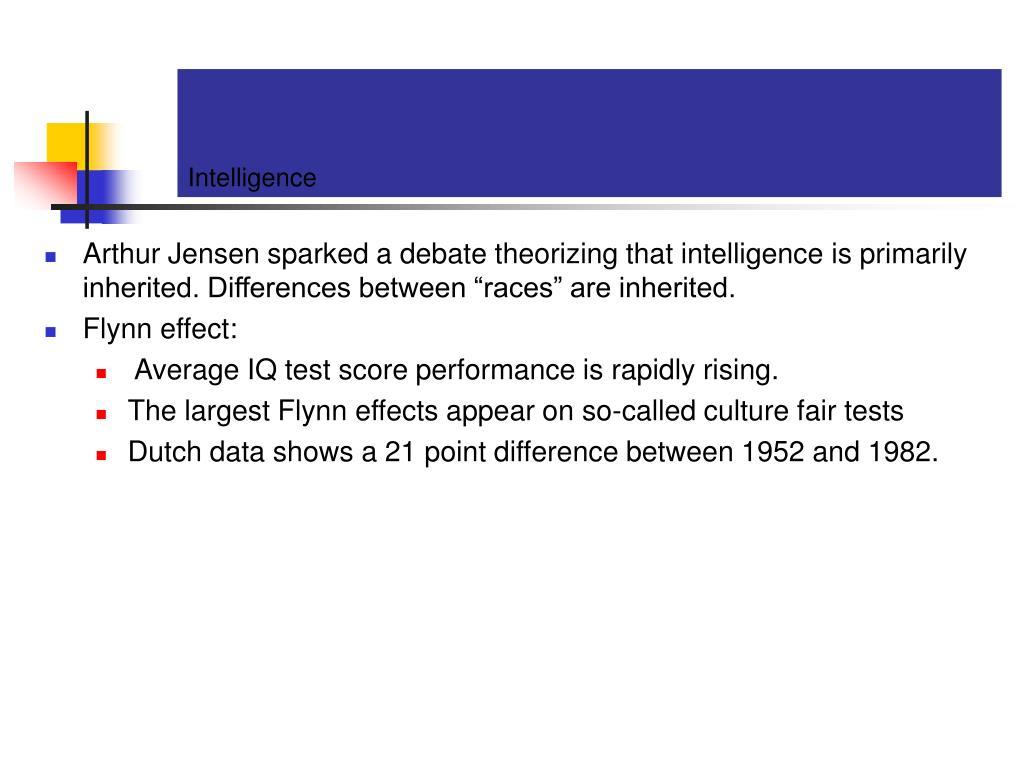 Intelligence