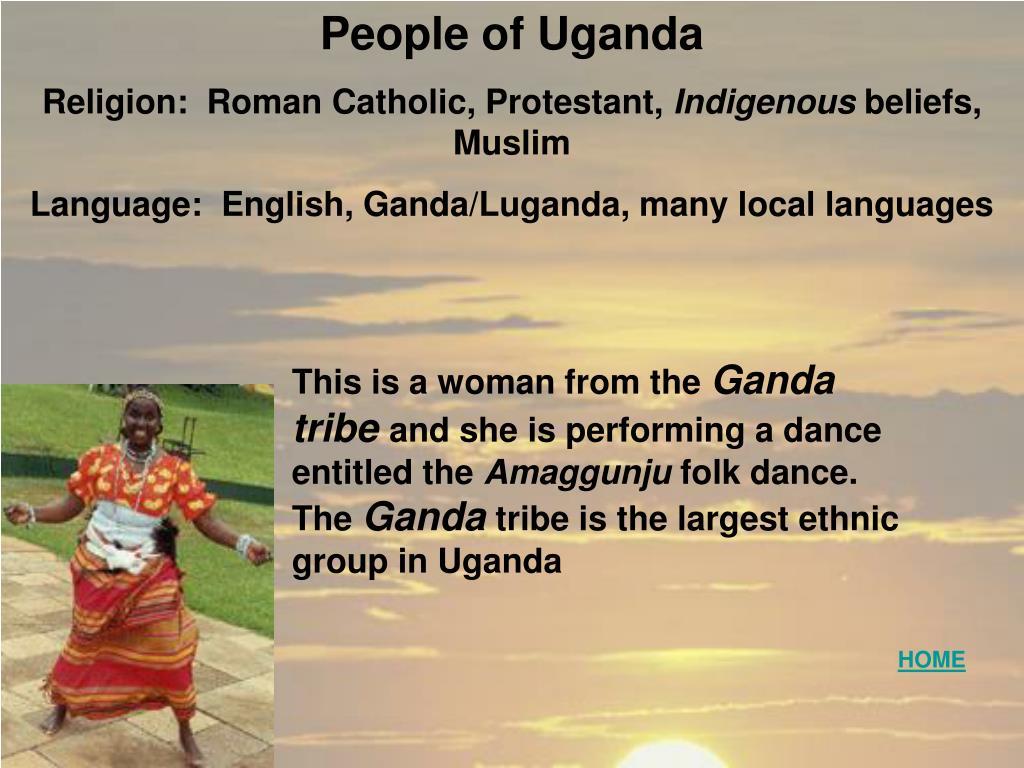 People of Uganda