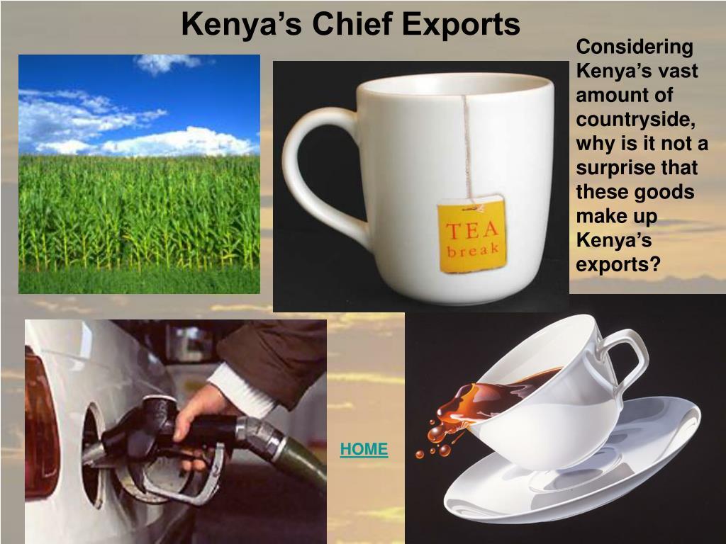 Kenya's Chief Exports